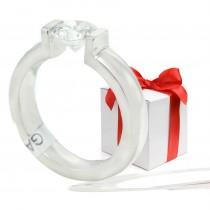 Gelin Abaci Tension Set Diamond Ring