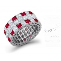 Beauty of Design: 2012 New Eternity Ring Designer Collection