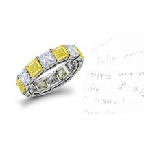 New Arrivals - This Yellow Sapphire & Diamond Ring A Whole Great Radiance