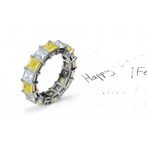 New Arrivals - This Yellow Sapphire & Diamond Ring Shows Sophistication