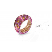 Symbolising LoveWhite Diamonds and Colored Stone Eternity Rings and Bands