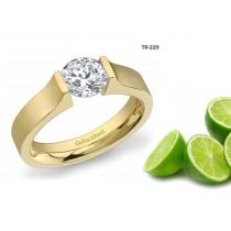 Popular Settings: Tension Set Precious Gemstone Exclusive Design Rings