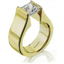Gelin Abaci Tension Set Diamond Rings