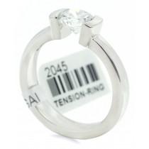 Platinum Gelin Abaci Engagement Ring