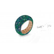 Symbolize Your Never-Ending Love With Eternity Rings Featuring Diamonds & Rubies, Emeralds & Sapphires