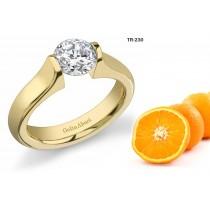 Platinum Settings: Tension Set Diamond and Precious Gemstone Women's Rings