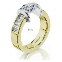Gelin Abaci Diamond Tension Ring Setting