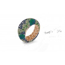 Mark Another Year of Romance With  Eternity Rings Featuring Diamonds & Rubies, Emeralds & Sapphires