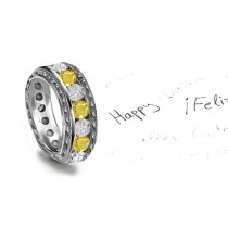 The Only Supply: This Diamond Sapphire Ring Shows Spectral Power of Light Emittance