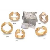 Gelin Abaci Diamond Tension Set Ring Setting