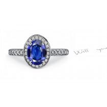 The Finest: A Brilliant Blue Sapphire & Diamond Ring