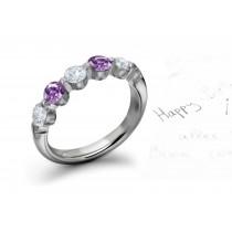 UniqueSapphire Diamond Rings