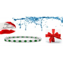 Emerald Jewelry: Emerald And Diamond Bracelets