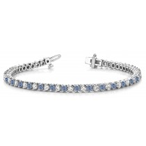 Colored Diamond Bracelets: Pink Diamonds - Pink Colored Diamond Bracelets