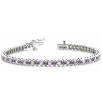 Colored Diamond Bracelets: Pink Diamonds - Pink Colored Diamond Bracelet