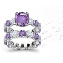 Truly Unique Sapphire Diamond Rings