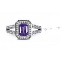 A New Classic: A Fine Purple Sapphire Diamond Ring