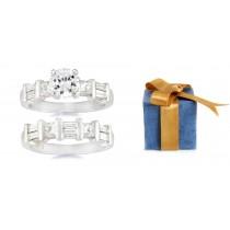 Diamond Engagement Wedding Ring