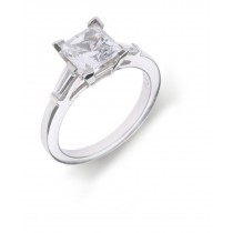 Side Accent Diamond Engagement Settings.