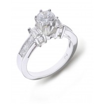 Side Accent Diamond Engagement Settings