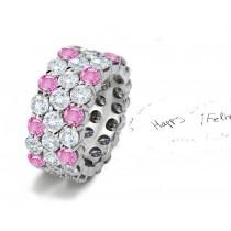 2012 New Eternity Ring Designer Gemstone Collection