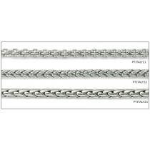 Platinum Mia, Tulip and Wheat Chain & Bracelet. View Bracelets Chains