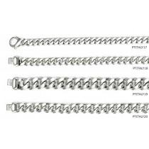 Platinum Solid Link Chain & Solid Link Bracelet. View Chains Bracelets