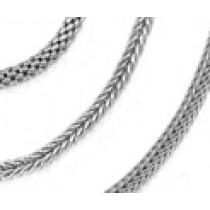 Platinum Wheat Chain, Platinum Berry Chain, Platinum Mesh, Square Chain & Bracelet. View Chains Bracelets.
