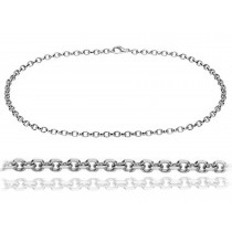 Platinum Cable Pendant Chain. View Chains and Bracelets