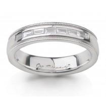 Platinum Diamond Anniversary Rings